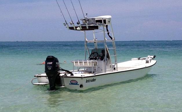 Intruder 21 Fishing Boat